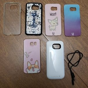 Lot of 6 Samsung Galaxy S6 cases Mophie